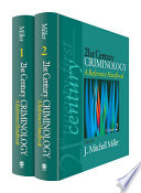 21st Century Criminology  A Reference Handbook
