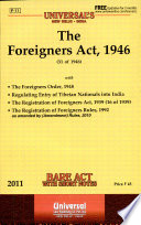 The Foreigners Act  1946