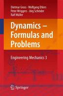 Dynamics Formulas And Problems
