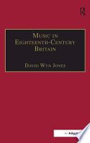 Music in Eighteenth Century Britain