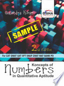 Sample  Koncepts of Numbers for Quantitative Aptitude in CAT  GMAT  XAT  CMAT  IIFT  Bank PO 2nd Edition