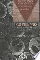 Ebook Lost Intimacies Epub William J. Spurlin Apps Read Mobile
