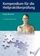 Kompendium f  r die Heilpraktiker Pr  fung