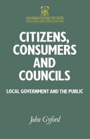 Citizens, consumers, and councils