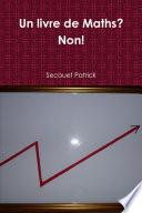 Un livre de Maths? Non!