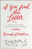 download ebook if you find this letter pdf epub