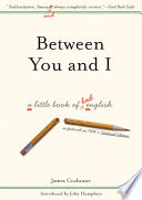 Between You and I