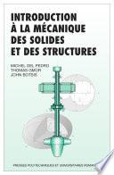 Introduction    la m  canique des solides et des structures