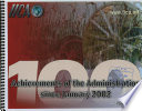 100 Major Achievements of the Administration Since January 2002