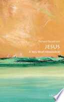 Jesus  A Very Short Introduction