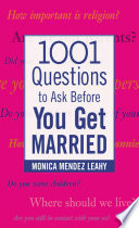 Ebook 1001 Questions to Ask Before You Get Married Epub Monica Leahy Apps Read Mobile