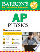 Barron s AP Physics 1 with Bonus Online Tests