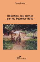 illustration Utilisation des plantes par les pygmées baka