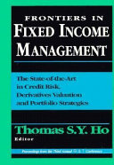 Frontiers In Fixed Income Management book