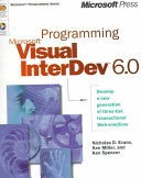 Programming Microsoft Visual InterDev 6.0