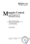 Mosquito Control Some Perspectives For Developing Countries