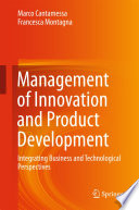 Management of Innovation and Product Development