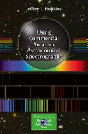 Book Using Commercial Amateur Astronomical Spectrographs