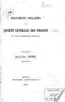 Documents relatifs à la Société générale des prisons ...