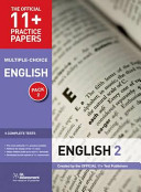 11+ Practice Papers English Pack 2 (Multiple Choice)