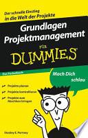 Grundlagen Projektmanagement f  r Dummies
