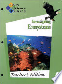 BSCS Science T.R.A.C.S.: Investigating ecosystems