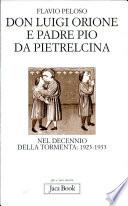 Don Luigi Orione e padre Pio da Pietrelcina