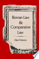 Roman Law   Comparative Law