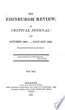The Edinburgh Review of Critical Journal October 1824...January 1825