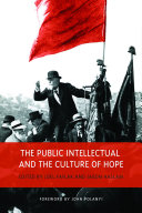 download ebook the public intellectual and the culture of hope pdf epub