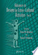 Advances In Design For Cross Cultural Activities