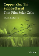 Copper Zinc Tin Sulfide-Based Thin Film Solar Cells