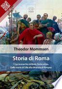 Storia di Roma  Vol  7  La monarchia militare  Parte prima  Dalla morte di Silla alla dittatura di Pompeo