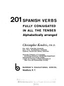 201 Spanish Verbs Fully Conjugated in All the Tenses  Alphabetically Arranged