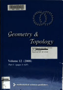 Geometry & Topology
