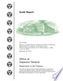 Report on Controls Placed in Operation and Tests of Operating Effectiveness for the Bureau of the Public Debt s Fed  Invest  Branch from August 1  2009 to July 31 2010