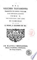 Il Pentateuco o sia i cinque libri di Mos   secondo la volgata tradotti in lingua italiana  e con annotazioni illustrati  Tomo 1    17