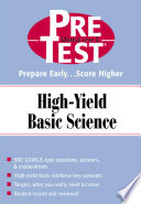 PreTest High Yield Basic Science