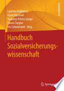 Handbuch Sozialversicherungswissenschaft