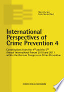 International Perspectives of Crime Prevention 4