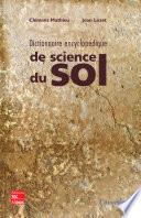 Dictionnaire De Science Du Sol Avec Index Anglais Francais par Clément Mathieu, Jean Lozet