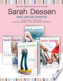 A Sarah Dessen e book Sampler