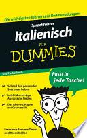 Sprachf  hrer Italienisch f  r Dummies Das Pocketbuch