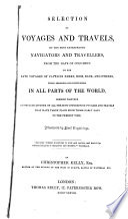 illustration du livre Selection of Voyages and Travels by the Most Enterprising Navigators and Travellers
