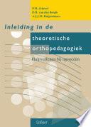 Inleiding in de theoretische orthopedagogiek