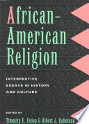 African-American Religion Mt Important Essays On The Development Of These