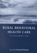 Rural Behavioral Health Care