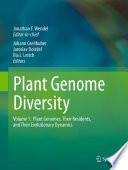 Plant Genome Diversity Volume 1 Book PDF