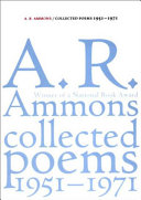 Collected Poems  1951 1971