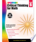 Spectrum Critical Thinking for Math  Grade 6